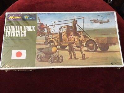 VTG. Hasegawa Mini Craft Japanese Army Starter Truck Toyota GB Armor 1:72 #717