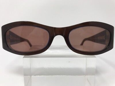 Moschino Sunglasses 51-19-130 Brown/Electric Blue Italy C391