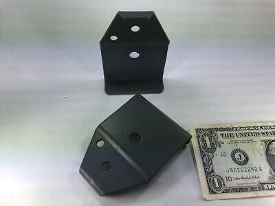 Equipto 78299 Steel Brackets Plates Clips Shelving Conveyor Cabinet Holes