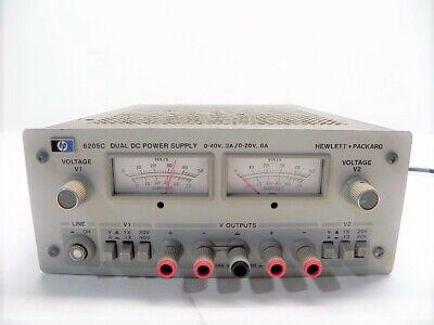 Agilent Hp Keysight 6205c Dual Dc Power Supply