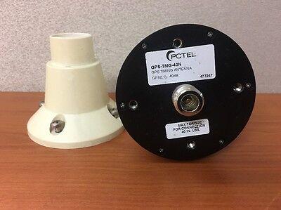 Pctel Gps-tmg-40n Gps Timing Antenna 40 Db Internal Amplifier W Collar Mount