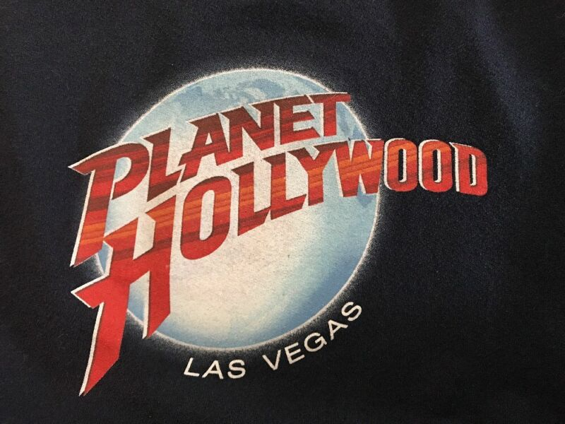 Planet Hollywood Las Vegas Unisex Sweatshirt In Youth Large
