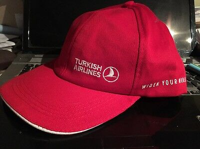 Basecap Turkish Airlines,-
