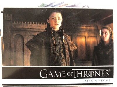 Game Of Thrones Season 7 - Trading Card Complete Base Set 81 Cards - Wrappers