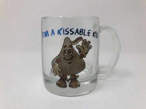 Купить Luminarc - Kissable Kid Hershey Kiss Glass Mini Mug Shot Glass Collectible Luminarc Vintage