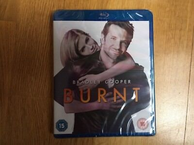 Burnt Movie Blu-ray With Bradley Cooper & Sienna Miller Christmas Gift NEW ()