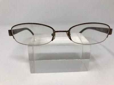 Vera Wang Eyeglasses V126 50-18-135 Readers Brown A992
