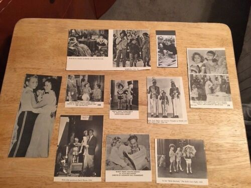 SHIRLEY TEMPLE - Assorted Vintage Clippings