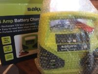 battery car charger plug in one
