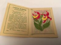 Kensitas Cigarette Silk Flower (medium) Lady's Slipper No 25 In A Series Of 60 - kensitas - ebay.co.uk