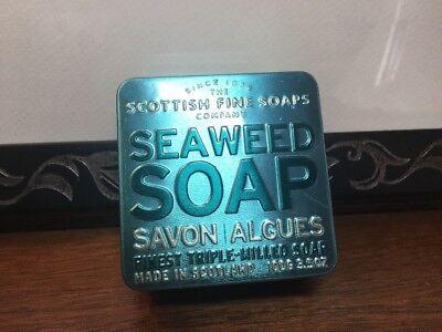 Seaweed Soap By Scottish Fine Soaps Finest Triple Milled Soap 3 5Oz 100G Tin Nib