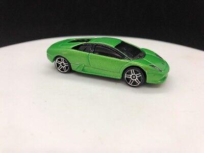 Hot Wheels 2009 Lamborghini Murcielago Green Italian Import Rare HTF Loose Dream