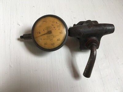 Vintage Ford Dial Indicator By Federal Products Corp. .001 With Clamp