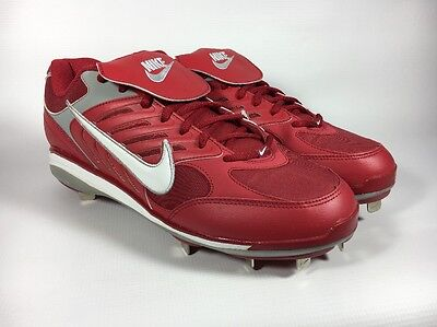 Nike Air Slider (Nike Air Slider CT Red Metal Baseball Cleats NIB  12.5 314319 611 )