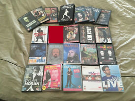 21 British Comedy DVDs - Mostly Standup - Bill Bailey, Russell Brand, Dylan Moran, Jack Dee...