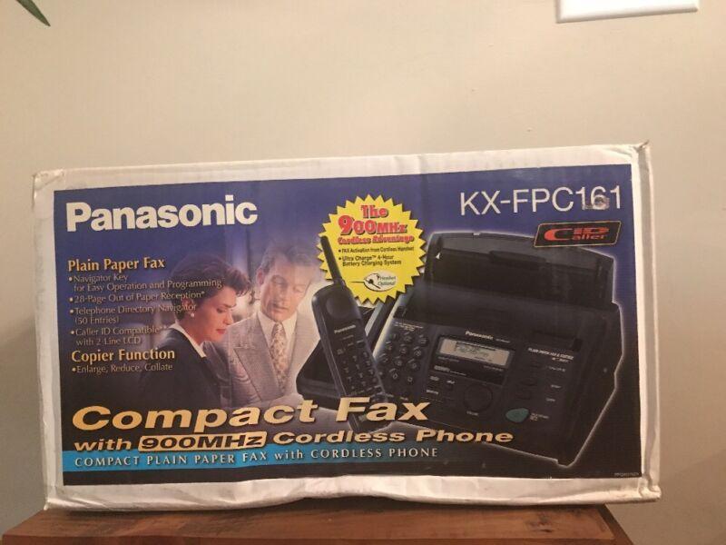 Panasonic KX-FPC161 Fax Machine New In Box