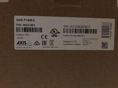 Axis P1428-E 4K Ultra HD Network Surveillance Camera 8.3 MP Day/Night H.264 JPEG