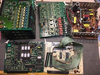 (Lot NEC KTS Electronic Station Telecom Expansion Card Boards M-781972 @C)