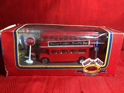 Diecast London Double Decker Bus Best of British Heritage London's Transport