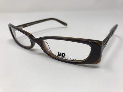 JLo Eyeglasses JL221 JFL Brown Frame 50-16-130mm Full Rim JG88