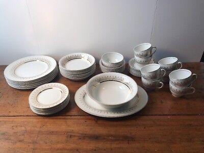 Vintage Alfred Meakin England Reverie Pattern Pitcher Basin Bowl