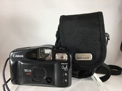Canon Sure Shot Owl Date 35mm - Comes with Canon Case **Free Shipping** A6