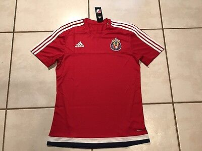 NWT ADIDAS Adizero  Chivas USA 2014 Pregame MLS Soccer Jersey Men's Medium image