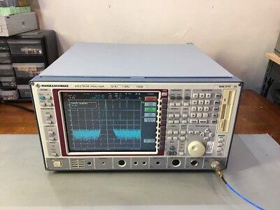 Rohde Schwarz Fseb Spectrum Analyzer 20 Hz 7 Ghz Calibrated W New Display