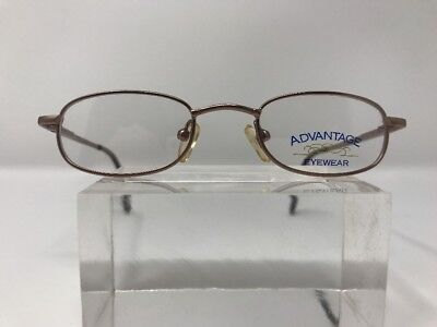 Authentic Advantage Eyewear B4215 Seagull Eyeglasses 41-19-120 Brown Flex B929