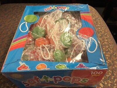 Saf-T-Pops Swirls Assorted Fruit Flavors,-Spangler # 77-24  (Swirl Pops)