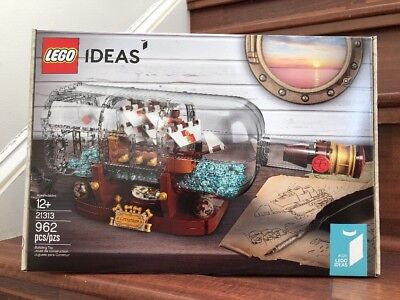 New  Lego Ideas Ship In A Bottle  21313   Sealed