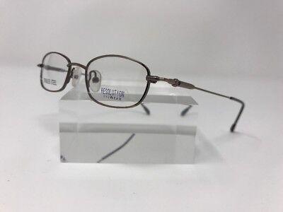 Resolution Eyewear Eyeglasses 556 42-17-125 Steel Bronze Flex-Hinge Z217
