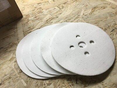 7 Felt Disc For Flooring Edger Sander Qty. 5