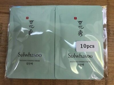 Sulwhasoo Radiance Energy Mask 5ml x 10pcs (50ml) Sample AMORE US seller Free Sh