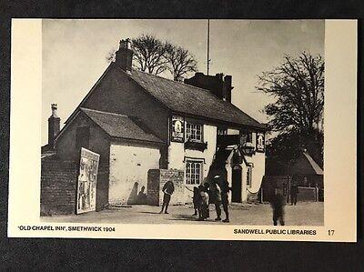 RP Vintage Postcard - Staffs. #B7 - Old Chapel Inn, Smethwick 1904