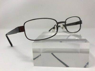 Smilen Eyewear Eyeglasses 81 54-18-140 Gray Flex Hinge AF83