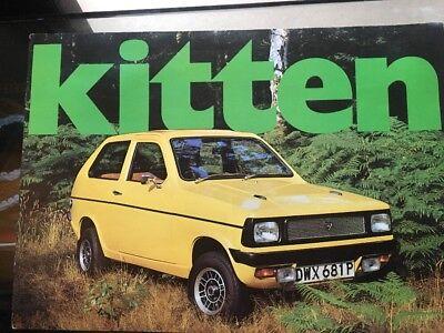 Car Brochure - 1977 Reliant Kitten - Belgium