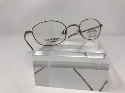 Advantage Eyewear Eyeglasses 44-20-130 Bronze/Tortoise Flex Hinge L970