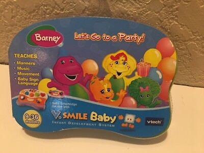 Vtech: Vsmile Baby - Barney Lets Go to a Party Smartridge