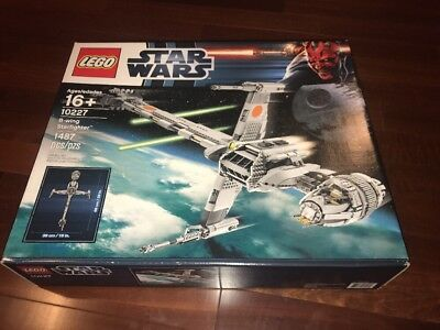 Lego Star Wars B Wing Starfighter  10227   Brand New And Sealed