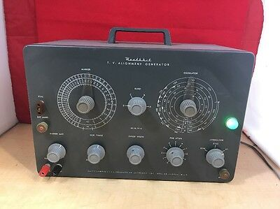 VINTAGE HEATHKIT T.V. ALIGNMENT GENERATOR MODEL TS-4A