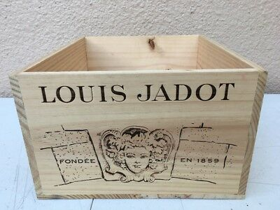 Wine Box Case Crate 6 Bottle French Domaine Louis Jadot Burgundy Beaune