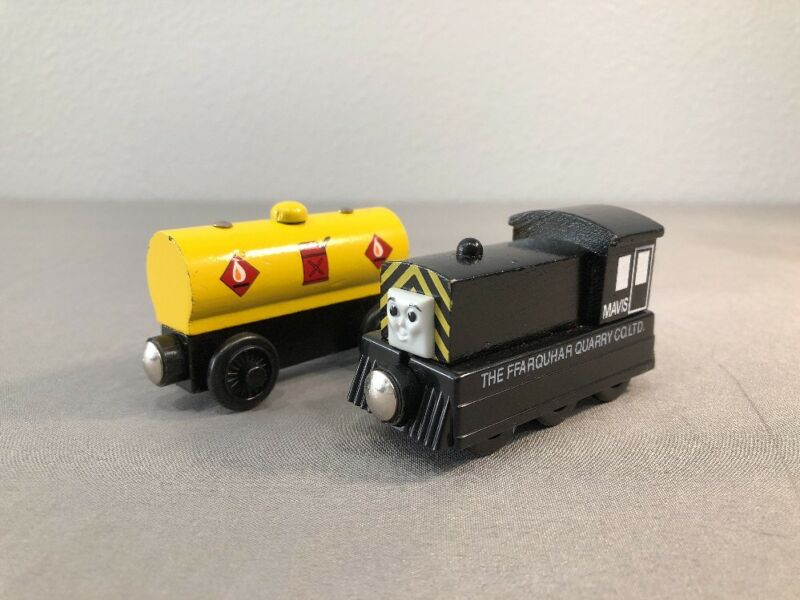 Thomas Friends Wooden Train Mavis Fuel Tanker Polybullcom