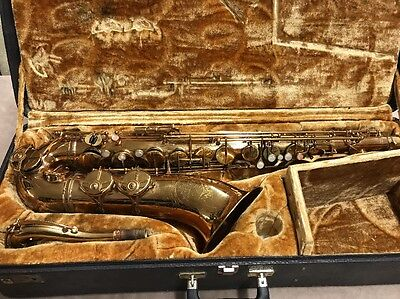 Sml Strasser Marigaux Tenor Sax Made In France Serial  14597