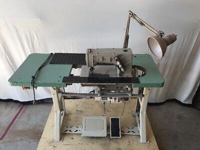 Rimoldi 268-00-2md-3i Coverstitch 2-needle 5-thread Industrial Sewing Machine