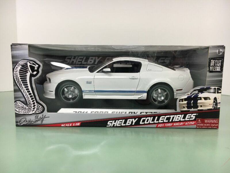 *SHELBY COLLECTIBLES 2011 FORD SHELBY GT350 1:18 SCALE BY SHELBY COLLECTIBLES*.