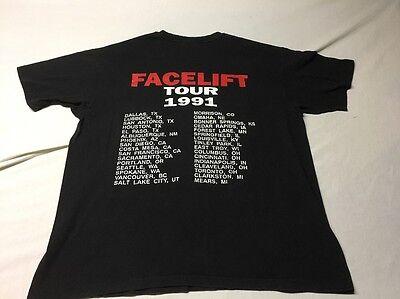 VTG ORIGINAL ALICE IN CHAINS FACELIFT TOUR CONCERT SHIRT 1991 DIRT XL