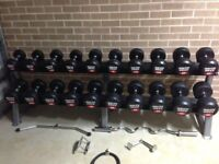 FREE HOME DUMBBELL SET MUST GO FAST!