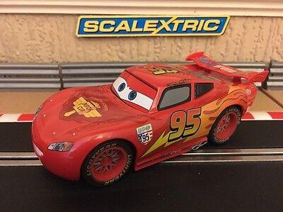 Scalextric Disney / Pixar Lightning McQueen 95 *Unboxed Rare*