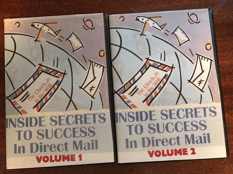 Gary Halbert John Carlton Ted Nicholas Inside Secrets To Success In Direct Mail